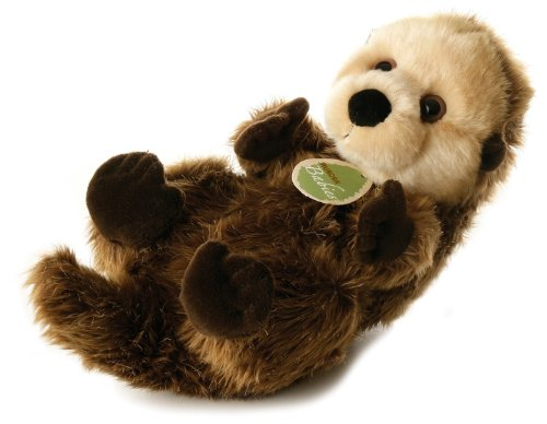 Folkmanis Puppets Baby Sea Otter Hand Puppet 30727 AU-30727