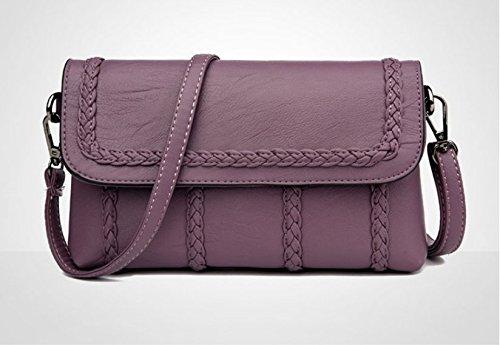 Girl Inclined New Hlmhhl Bag Single New Chain Bag Bag Shoulder Fairy Violet Bag Summer qw8rtw17