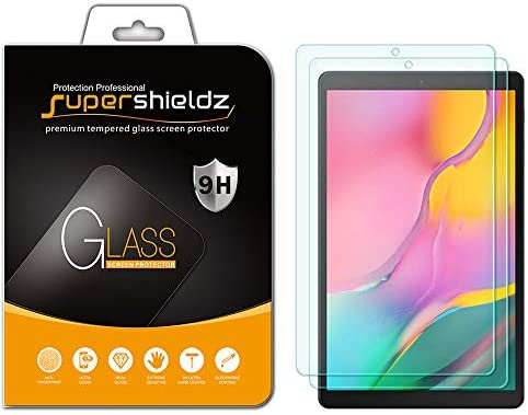 (2 Pack) Supershieldz for Samsung Galaxy Tab A 10.1 (2019) (SM-T510 Model) Screen Protector, (Tempered Glass) Anti Scratch, Bubble Free
