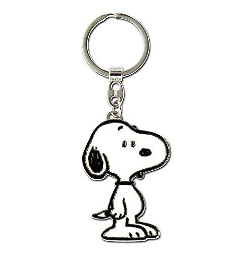 Comic - Peanuts - Perro - Beagle - Snoopy Llavero - Key-Ring - coloreado - Diseño original con licencia - Logoshirt
