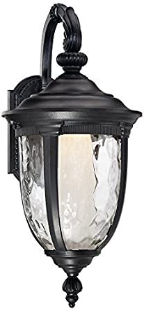 Bellagio 20 1 2 High Led Black Outdoor Wall Light