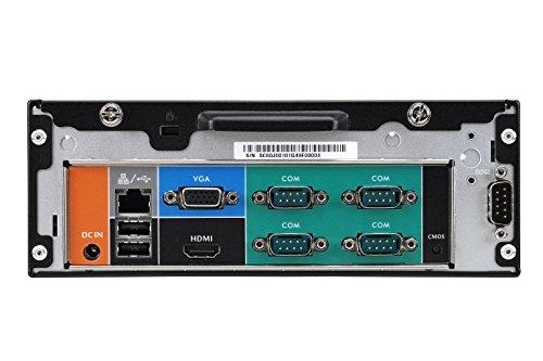 Shuttle XPC Slim XC60J Intel Celeron J3355 Max. 16GB Support SODIMM DDR3L Include Heatpipe Cooling Module 8 x COM Ports