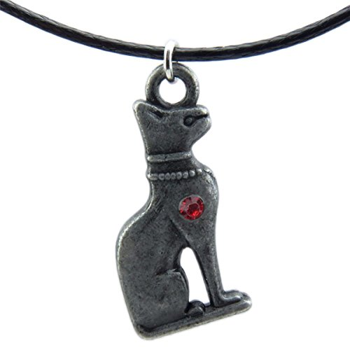 (2 Pack) Egyptian Goddess Isis Bastet 3d Cat Pendant Ancient Egypt God Charms (Bastet Ancient Egypt)