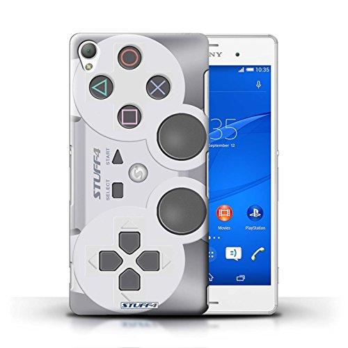 Kobalt® Imprimé Etui / Coque pour Sony Xperia Z3 / Playstation PS1 conception / Série Console (jeux vidéo)
