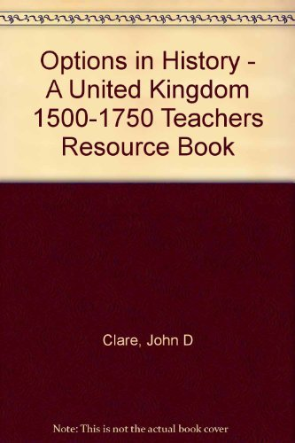 United Kingdom 1500-1750: Teacher's Resource Book