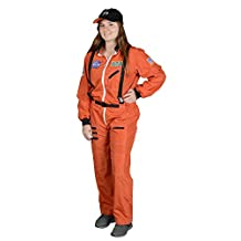 Aeromax ASO-ADULT  Adult Astronaut Suit with Embroidered Cap