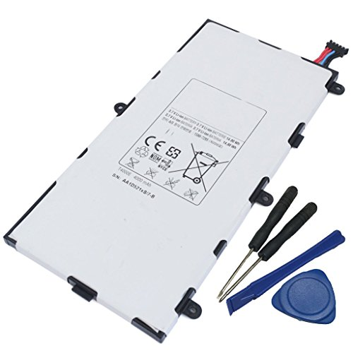 Powerforppc New Replacement Samsung Galaxy Tab 3 7 Inch SM-T210 Tablet Battery T4000E 8GB 16GB 32GB WiFi with Tools