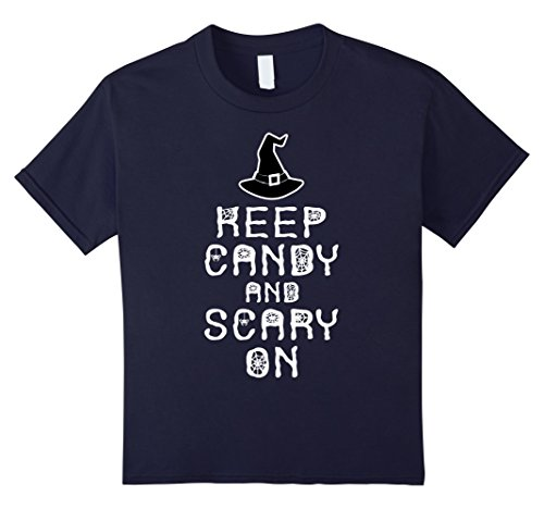 Kids Keep Candy And Scary On Clever Last minute Halloween Costume 4 Navy (Last Minute Halloween Makeup For Girls)