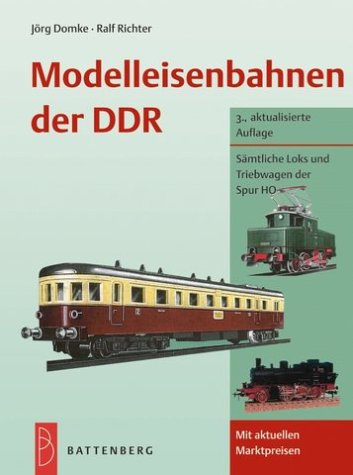 Modelleisenbahnen der DDR
