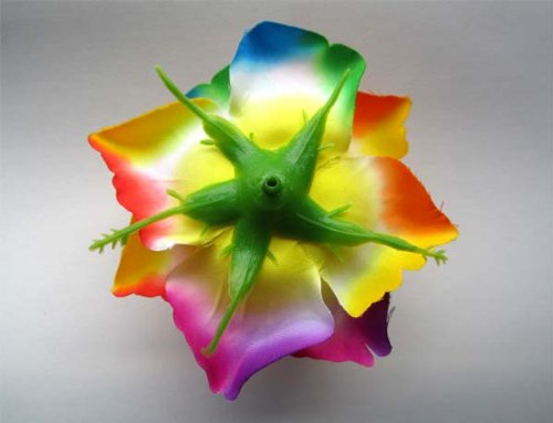 4-BIG-Rainbow-Silk-Roses-Flower-Head-375-Artificial-Flowers-Heads-Fabric-Floral-Supplies-Wholesale-Lot-for-Wedding-Flowers-Accessories-Make-Bridal-Hair-Clips-Headbands-Dress