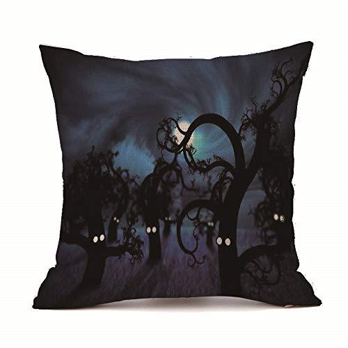 Funny Halloween Pumpkin Autumn Harvest Bling Glitter Throw Pillow Cushion Cover Case -