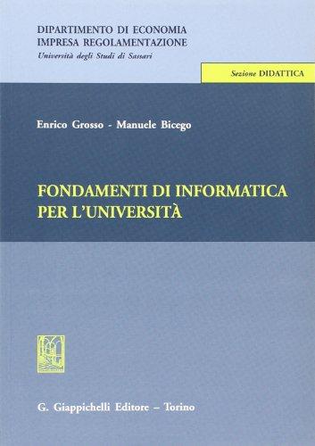 Informatica fondamenti pdf di