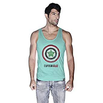 Creo Tank Top For Men - L, Green