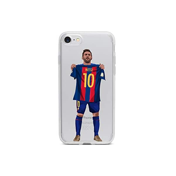 Famee Coque iPhone 6/6S Football - Lionel Messi - FC Barcelone - Classico