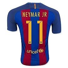 Barcelona Home Neymar #11 Football Soccer Kids Jersey with Free Shorts 2016-17