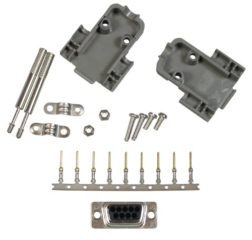 Rs 232 Wall Plate - Allen Tel Products ATD9MCK 9-Pin, Male Connector Kit