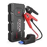Best Portable Jump Starters - ISELECTOR 2000A Peak QDSP Car Jump Starter, 18000mAh Review