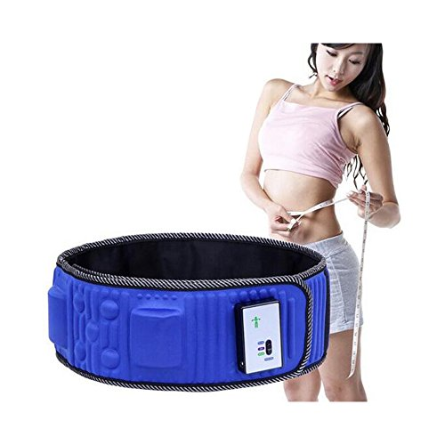 DecentGadget Vibration Waist Massager Belt Electric Slimming Massage for Exercising Trimming Fitness ()