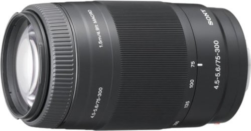 SONY 75-300mm F4.5-5.6 SAL75300 - International Version (No Warranty)