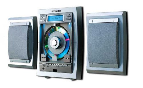 Fisher Slim Player Stereo Minisystem