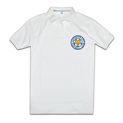 Leicester City F.C. Logo The Foxes Men Polo (Caralina Panthers)