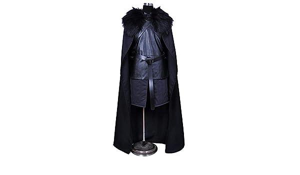 Cosplay Ropa Juego De Tronos Jon Crow Cosplay Disfraz De Lycra ...