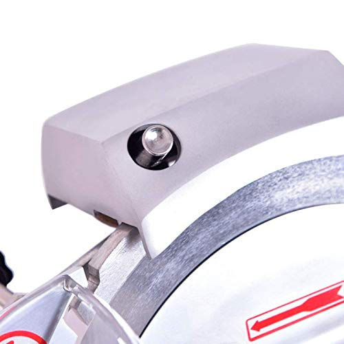 Cortadora de fiambres profesional 250 mm MBH