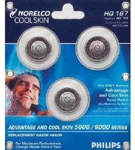 Norelco Part Cool Skin - Norelco & Philips HQ167 Advantage Cool Skin shaver head