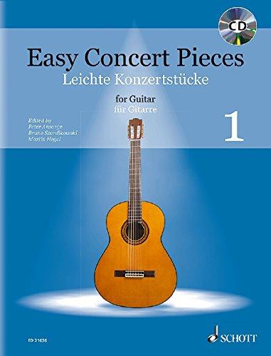 Easy Concert Pieces: Band 1. Gitarre. Ausgabe mit CD.