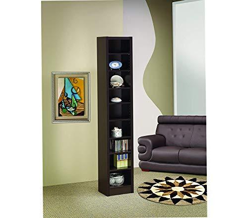 Cоаstеr Hоmе Furnishings Narrow 9-Shelf Bookcase -