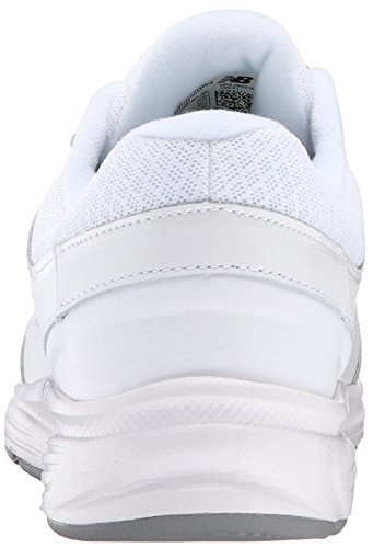 New Balance Women's WW411WT2 Walking Shoe, White, 9.5 D US