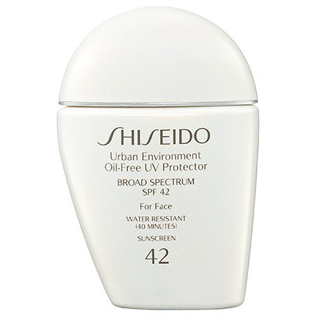 Price comparison product image Shiseido Urban Environment Oil-free UV Protector SPF 42 Broad Spectrum for Face, 1 Ounce