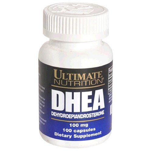 Ultimate Nutrition DHEA Capsules série Platinum, 100 mg, 100-Count Bottle