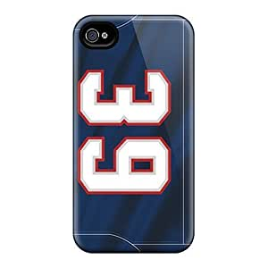 Blue Background New England Patriots Simple Stylish Design For Samsung Galaxy Note 4 Cover Cover