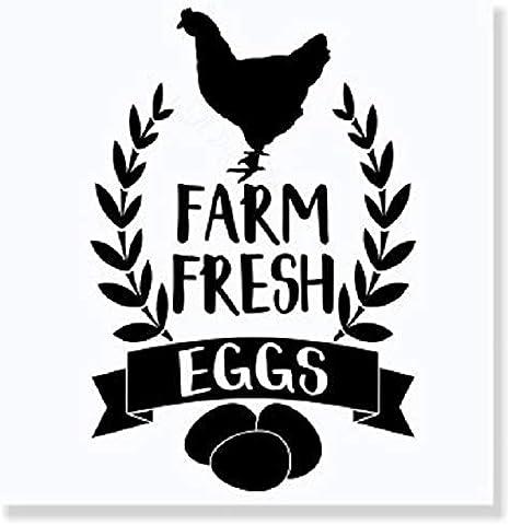 Details about  / Animals Barn Chicken Chick Farmer Tractor Wall Sticker Vinyl Art Decals Decor