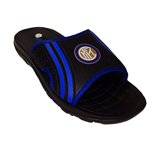 Inter , Chaussons pour homme noir noir