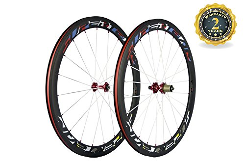 Superteam Bicycle Road Wheelset 700c Clincher 50mm, used for sale  Delivered anywhere in Canada