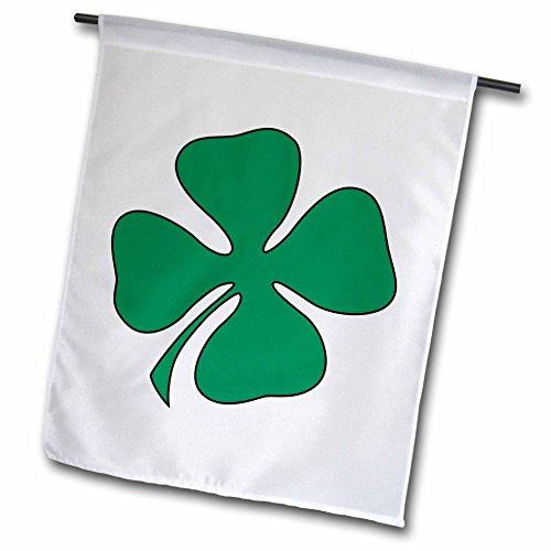 Cheap EvaDane – St, Patricks Day – Green Shamrock – 18 x 27 inch Garden Flag (fl_108307_2)