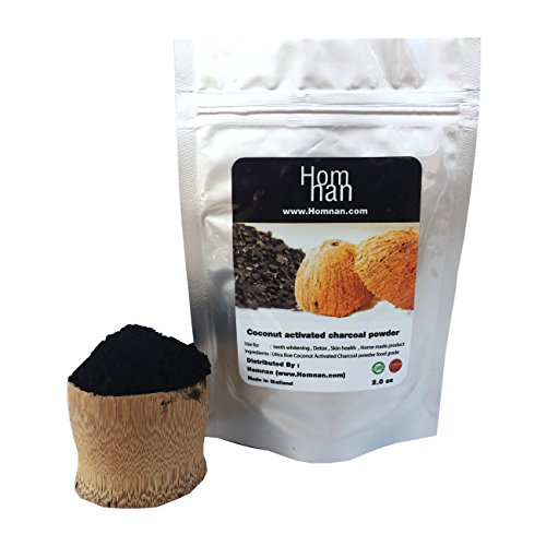Activated Charcoal powder raw coconut carbon organic and natural food grade ,Teeth whitening ,purifier,Detox and Home made (Skin Whitening Tea)