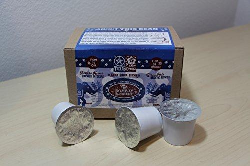 India/Kona Coffee Blend TexaKona Bombay Bluebonnet K-Cups 12 ct