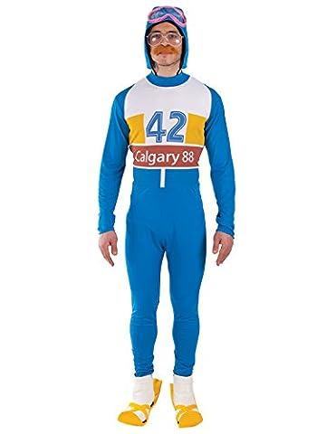 Orion Costumes Mens Olympic Skier 80s Fancy Dress Standard Size (Olympischen Wintersport Kostüme)