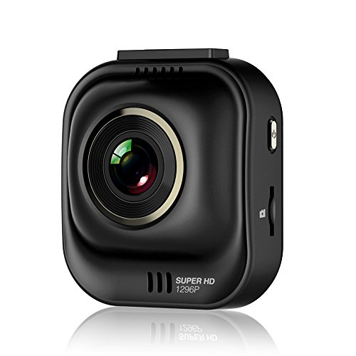 PAPAGO Car Dash Camera GoSafe 535 Super HD Dash Cam 1296P Car DVR, Car Cam, Night Vision,Free 8GB Micro SD Card GS5358G ()