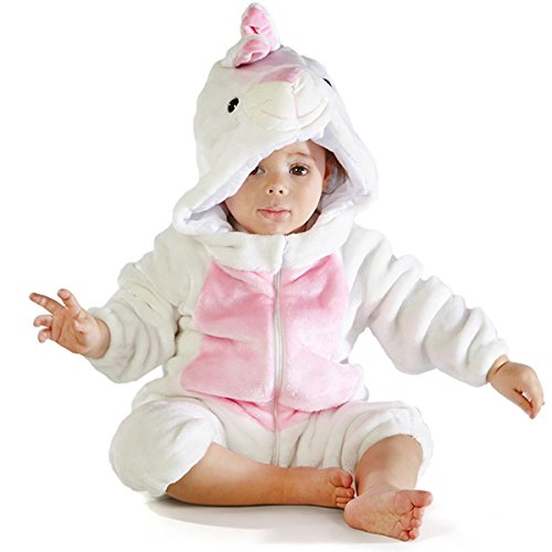 Natural Uniforms White Rabbit Costume (18-24 Large)]()