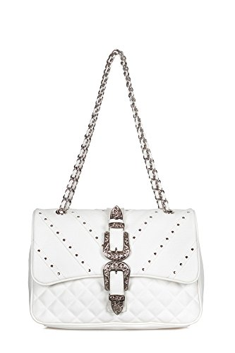 Mia Bag - Bolsa mediana Mujer Blanco 18122 PELLE Bianco