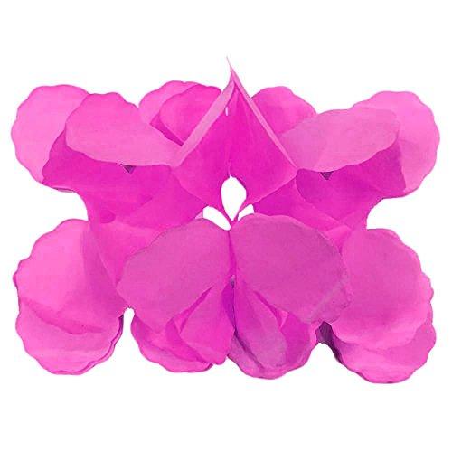 3 M De Quatro Folhas Decoração Do Casamento De Aniversário Artesanato Guirlandas De Flores Trevo De Papel Rosa