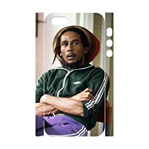 C-EUR Cell phone Protection Cover 3D Case Bob Marley For Iphone 5,5S