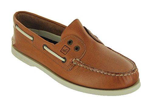 Sperry Top-Sider Men's Authentic Original Slip On Boat Shoe,Tan,9.5 M US