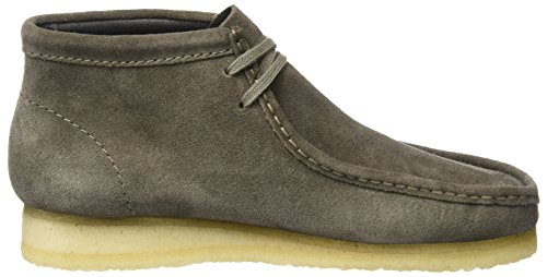 Clarks Originals Herren Wallabee Boot Kurzschaft Stiefel Grau (Grey Suede)