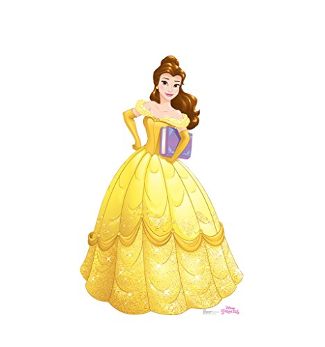 Belle - Disney Princess Friendship Adventures - Advanced Graphics Life Size Cardboard Standup