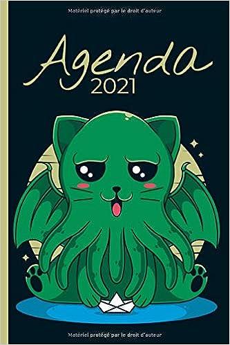 Agenda 2021 Manga Chat Cthulhu Agenda Semainier Format A5 Janvier 2021 A Decembre 2021 Pour Les Etudiants Professionnels Et Particuliers De Contacts Notes French Edition Jaynda A 9798679515550 Amazon Com Books